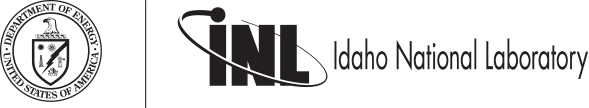 Idaho National Laboratory logo and Department of Energy Logo